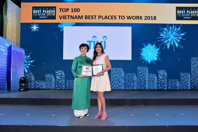 Tiki luôn nằm TOP những doanh nghiệp Uy tín hàng đầu Việt Nam