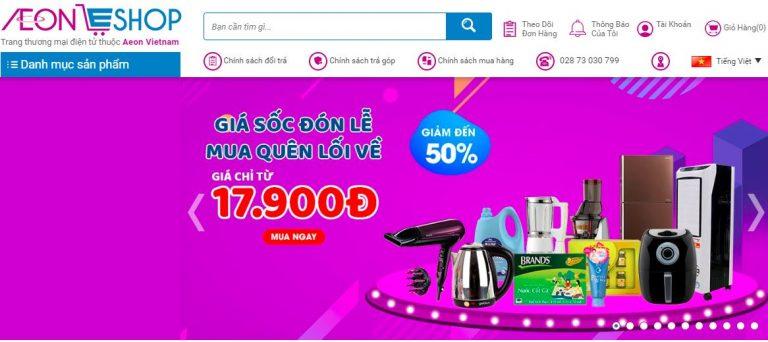 AeonEshop – địa chỉ mua hàng Nhật online uy ín
