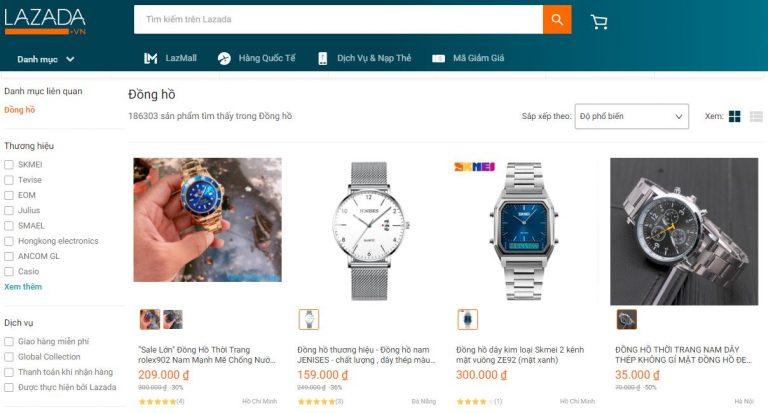 Có nên mua đồng hồ trên Lazada?