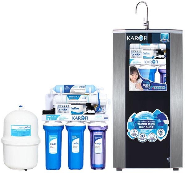 Máy lọc nước Karofi thích hợp sử dụng cho nhiều nguồn nước khác nhau