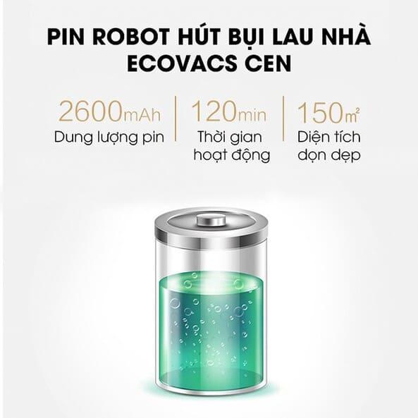 Pin robot hút bụi Ecovacs Cen 546