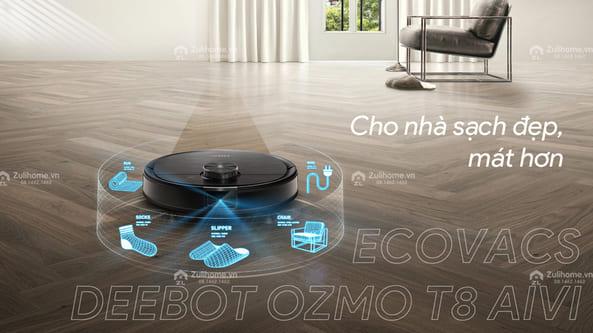 Robot hút bụi Ecovacs tại Zulihome