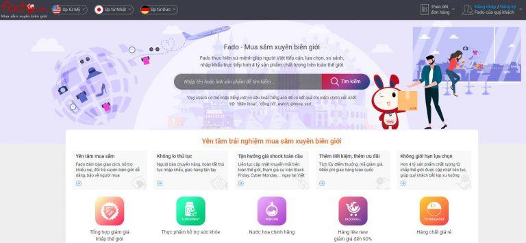 Sàn thương mại điện tử Fado.vn
