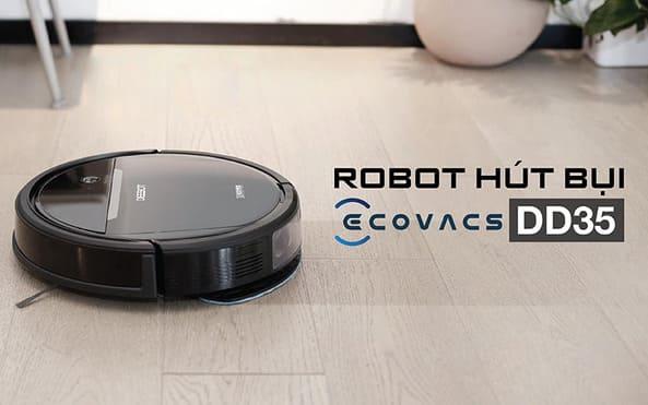 Ecovacs Deebot DD35 thu hút thiết bị