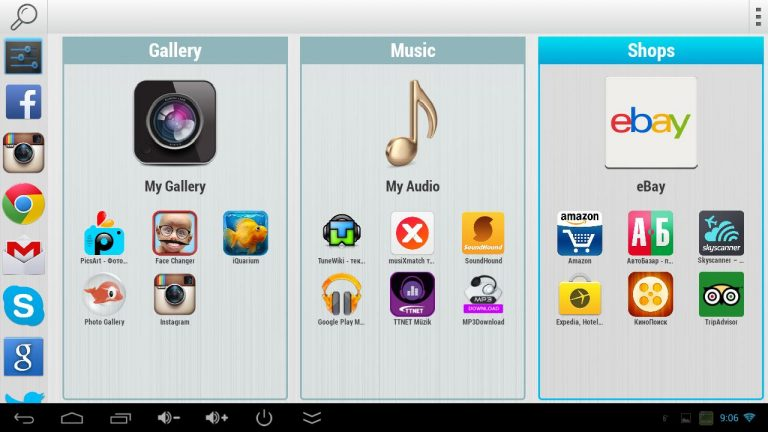Ứng dụng Handy Smart TV
