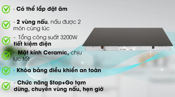 Bếp Từ Electrolux EHI7260BA